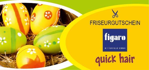 """Gutschein mit Motiv """"Ostern"""""""